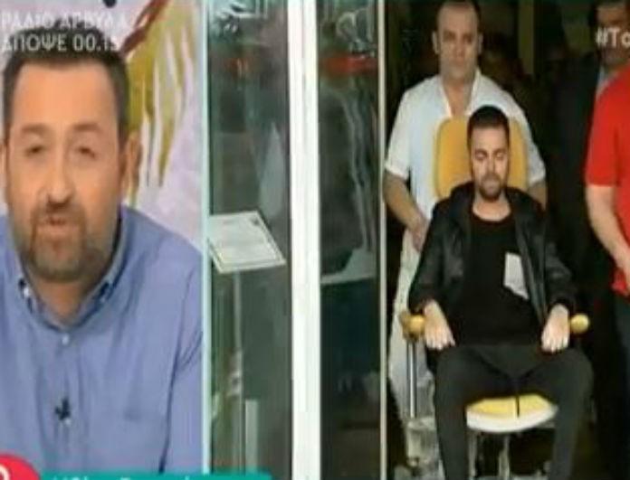 Ηλίας Βρεττός: Η επόμενη μέρα μετά το τροχαίο! Οι κινήσεις για να σταθεί πάλι στα πόδια του! (Βίντεο)