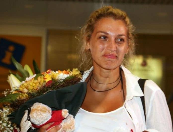 Δε φαντάζεστε ποιο ήταν το πρώτο πράγμα που έκανε η Κωνσταντίνα Σπυροπούλου με το που γύρισε σπίτι της!