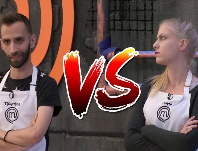 MasterChef: Χαμός θα γίνει σε αυτό το επεισόδιο με... Τζώρτζη και Γωγώ αντιμέτωπους!
