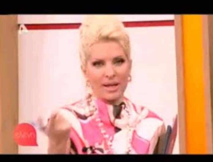 Απίστευτο! Δείτε την ατάκα της Ελένης Μενεγάκη σε τηλεθεάτρια: «Ρε, γιατί κάνεις το βαρύ πεπόνι...»