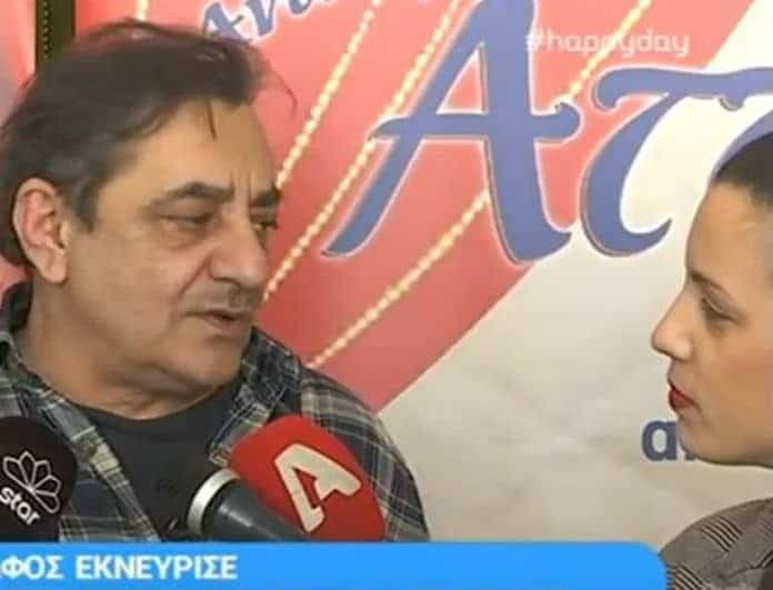 Δείτε την επική απάντηση του Αντώνη Καφετζόπουλου σε ερώτηση δημοσιογράφου που τον έκανε έξαλλο!