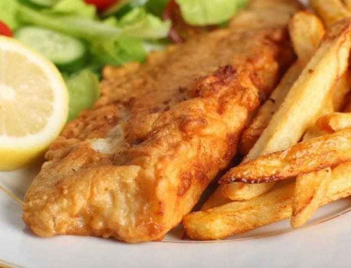 Η συνταγή που αγαπήσαμε! Φτιάξε fish & chips και θα νιώσεις master chef!