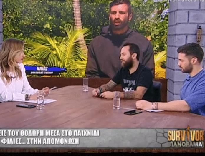 Survivor Panorama: Η «μπηχτή» της Ντορέττας Παπαδημητρίου για τον Θοδωρόπουλο! « Βλέπει παντού...