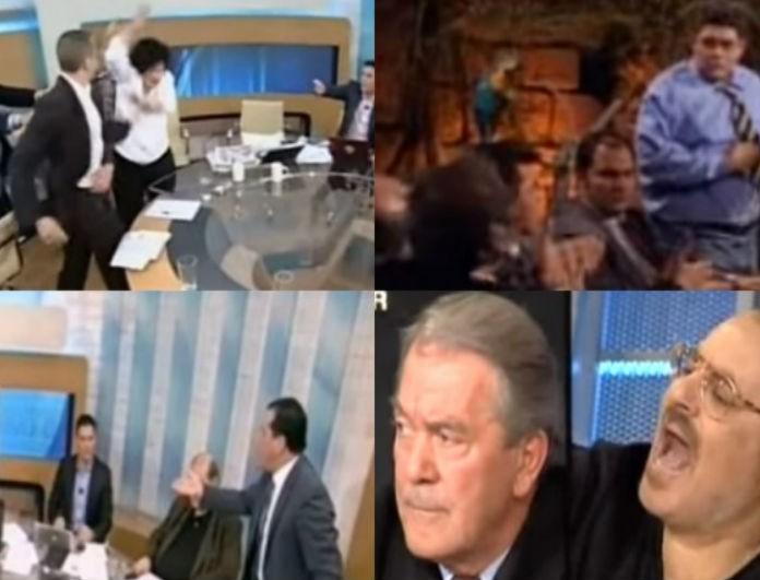 Συλλεκτικό! Οι τσακωμοί που άφησαν ιστορία στην ελληνική τηλεόραση (vids)