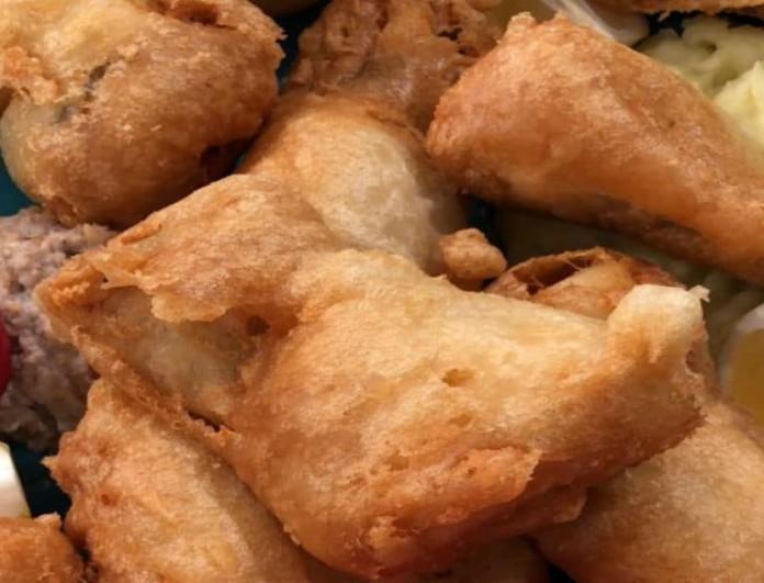 Η συνταγή της ημέρας: Μπακαλιάρος τηγανητός με σκορδαλιά, από το Βασίλη Καλλίδη!