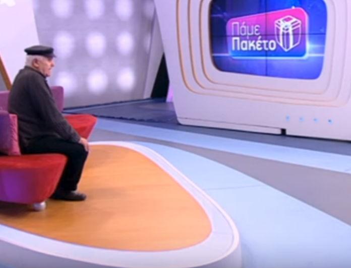 Πάμε Πακέτο: Η συγκλονιστική ιστορία του κ. Γιάννη! Έκανε τη Βίκυ Χατζηβασιλείου να μείνει με το στόμα ανοιχτό! (Βίντεο)