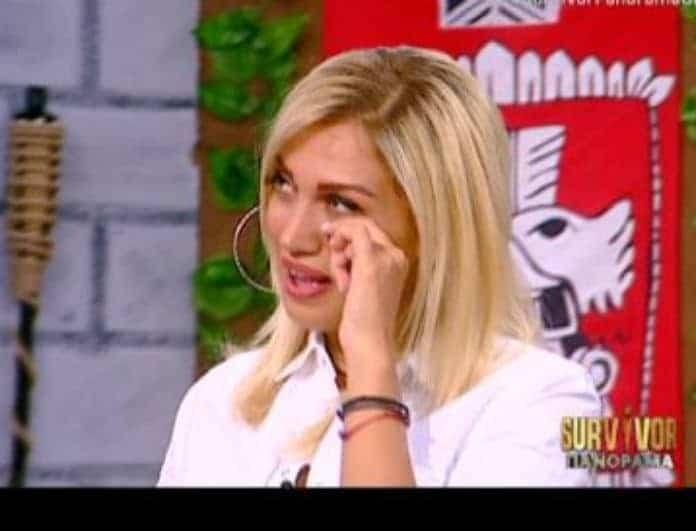 Survivor Panorama: Λύγισε η Σπυροπούλου στον αέρα της εκπομπής! Η εικόνα που την έφερε εκτός εαυτού!