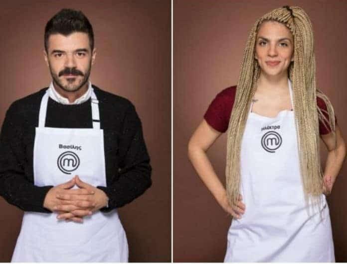 Master Chef: Η Ηλέκτρα και ο Βασίλης παραδέχθηκαν δημόσια την σχέση τους: