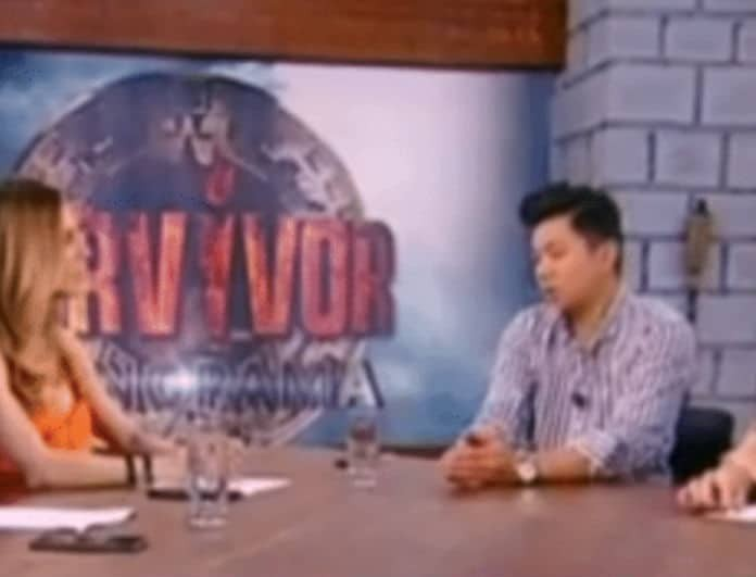 Survivor Panorama: «Έξαλλη» η Ευρυδίκη Βαλαβάνη on air με τον Ορέστη Τσανγκ! Τι είπε και την εκνεύρισε...