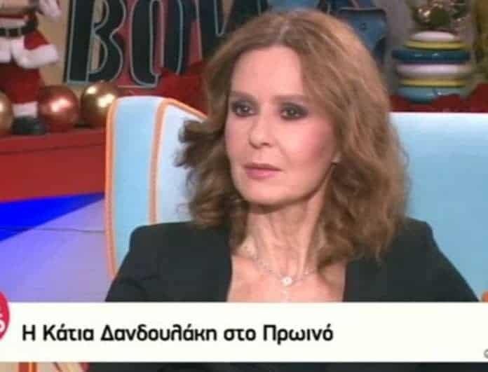 Απίστευτο! Η Κάτια Δανδουλάκη αποκάλυψε ποιος ηθοποιός από τη «Λάμψη» έβαζε κάρβουνο για κρύψει την φαλάκρα!