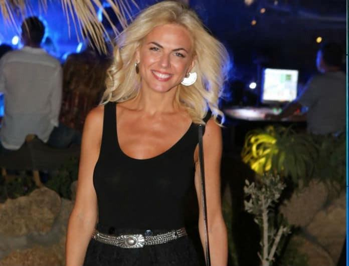 Η Χριστίνα Κοντοβά μιλά ανοιχτά για τη σχέση της με τον Τζώνη Καλημέρη! «Νιώθω ολοκληρωμένη και...»