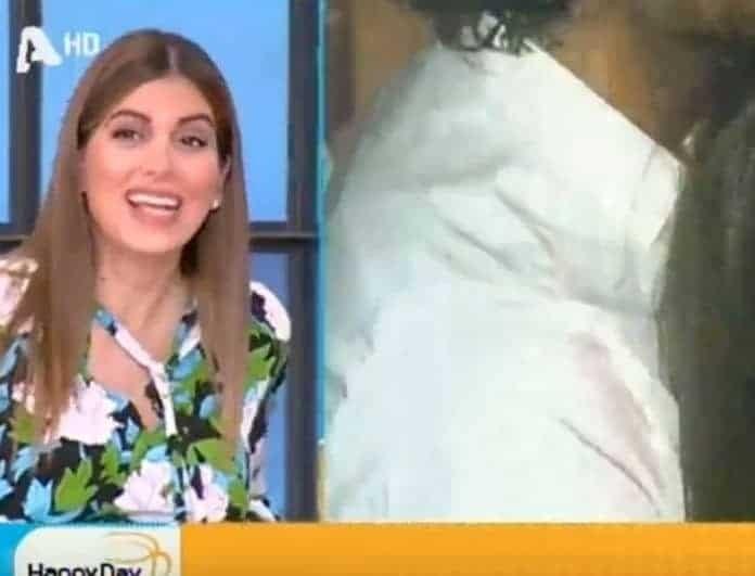 Ο γιος της Σταματίνας Τσιμτσιλή «κλοτσούσε» on air! Πώς αντέδρασε η παρουσιάστρια;