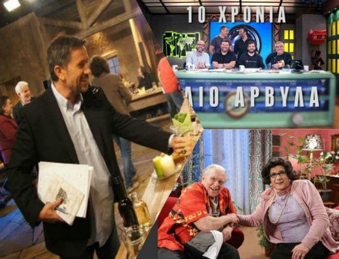 """Τηλεθέαση: """"Στην υγειά μας"""", Ράδιο Αρβύλα ή Δέκα Μικροί Μήτσοι κατέκτησαν την πρωτιά;"""