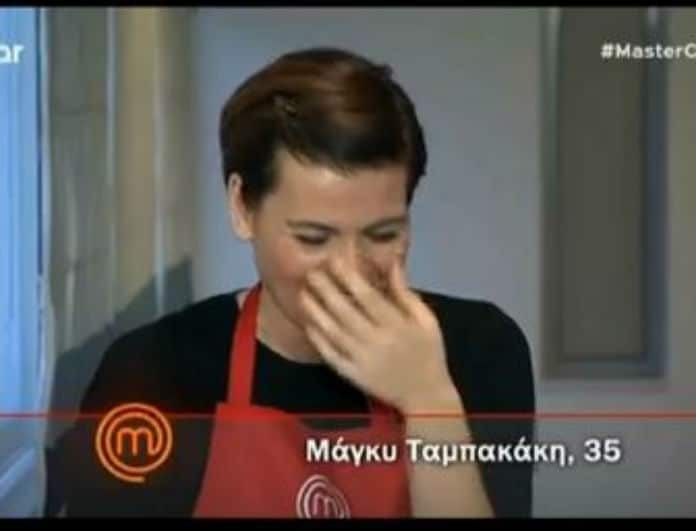 MasterChef: Απίστευτη γκάφα του Τσίκιλη - Ξέσπασε σε γέλια μέχρι δακρύων η Μάγκυ (video)