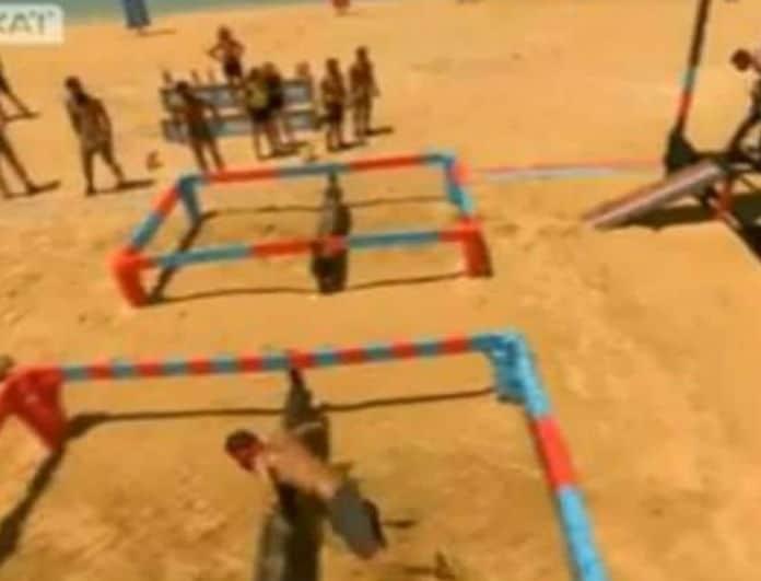 Survivor 2: «Έκλεψαν» τη νίκη από τους Μαχητές! Δείτε το φάουλ των Διασήμων δεν είδε κανείς! (video)