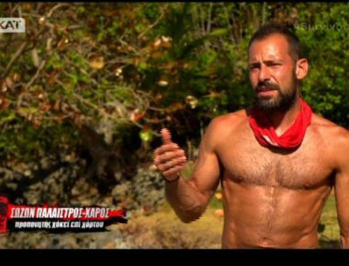 Survivor 2: Απασφάλισε ο Χάρος! - Εξαλλος με τους συμπαίκτες του!
