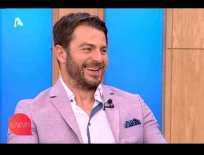 Ο Γιώργος Αγγελόπουλος μιλάει για τις ερωτικές σκηνές στο Τατουάζ! «Eίναι ρεαλιστικές και...» (Βίντεο)