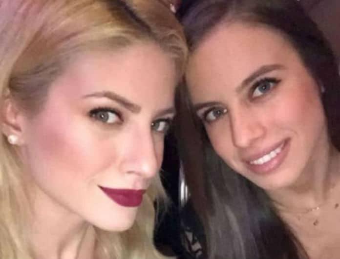 Ευαγγελία Αραβανή: Με την αδερφή της στον Οικονομόπουλο! Έκλεψε τις εντυπώσεις!
