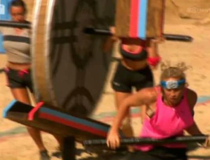 Survivor 2: Iron Barbie και Ροδάνθη σε αγώνα.. Μπεν Χουρ! Τις πήρε αμπάριζα ο τροχός και...