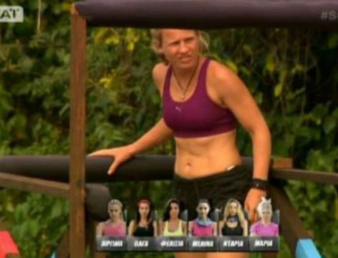 Survivor 2: H Iron Barbie έπαθε... Σπυροπούλου! Η βουτιά αλά νερόμπομπα που μας έκανε να κλάψουμε από τα γέλια!