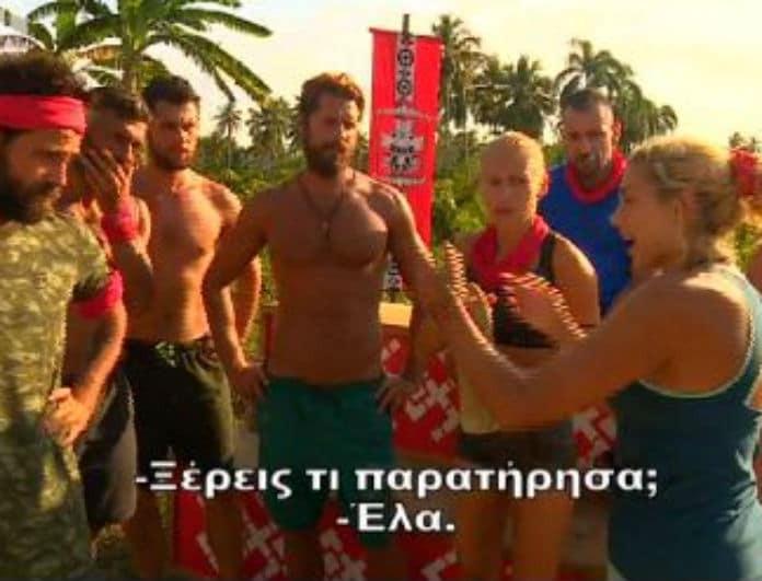 Survivor 2 - απίστευτο: Η Σπυροπούλου δίνει οδηγίες στη Δαλάκα! Πως αντέδρασε η παίκτρια; (Βίντεο)