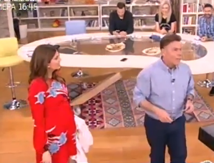 Δημήτρης Παπανώτας: Παραδέχτηκε στον αέρα της εκπομπής ότι έκανε μπότοξ! Δείτε την αντίδραση της Σταματίνας! (Βίντεο)