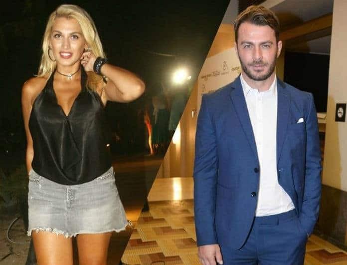 Γιώργος Αγγελόπουλος - Κωνσταντίνα Σπυροπούλου μαζί στην Κύπρο! Τι συνέβη; Φωτογραφία ντοκουμέντο!