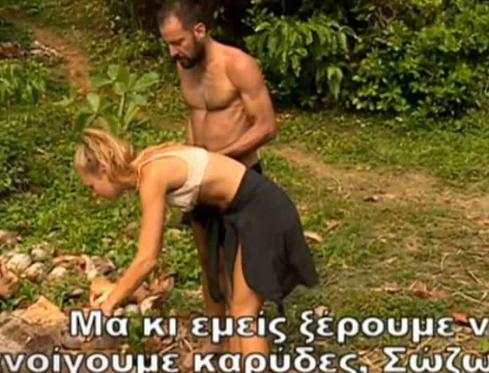 Survivor 2: Και όμως είναι αλήθεια! Δαλάκα και Χάρος κοιμήθηκαν δίπλα - δίπλα! (video)