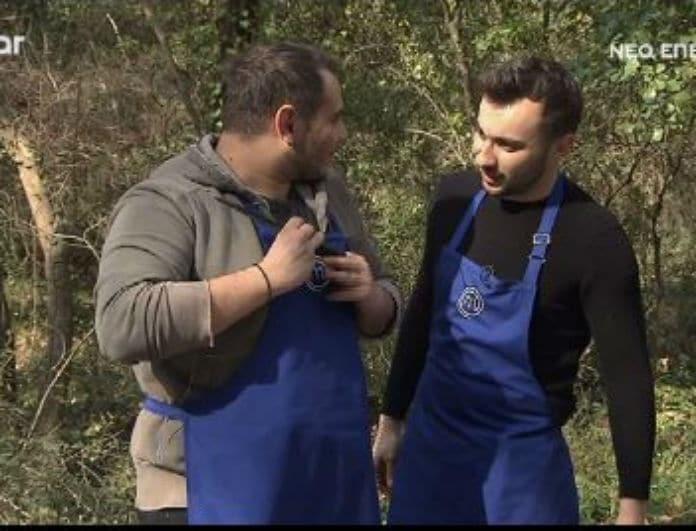 MasterChef: Τρολάρισμα για πολλά γέλια από τον Πάνο Ιωαννίδη στον Χρήστο Γλωσσίδη! (video)